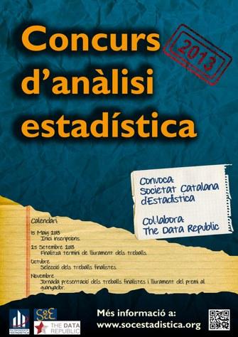 Concurs d'Anàlisi Estadística 2013