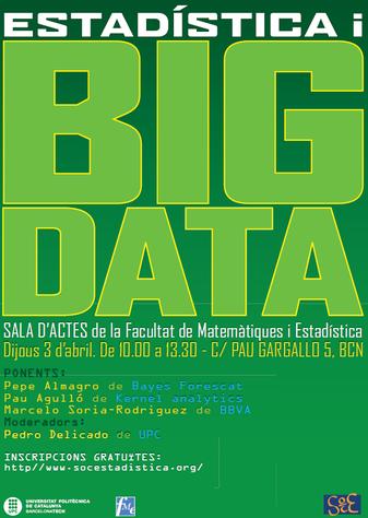 Dijous 3 abril: Seminari BIG DATA