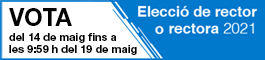Elecció de rector o rectora UPC 2021, (open link in a new window)